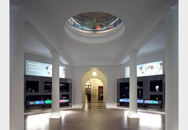 Burwell Deakins Architects' refurbishment of the Octagon and Flaxman galleries at University College London